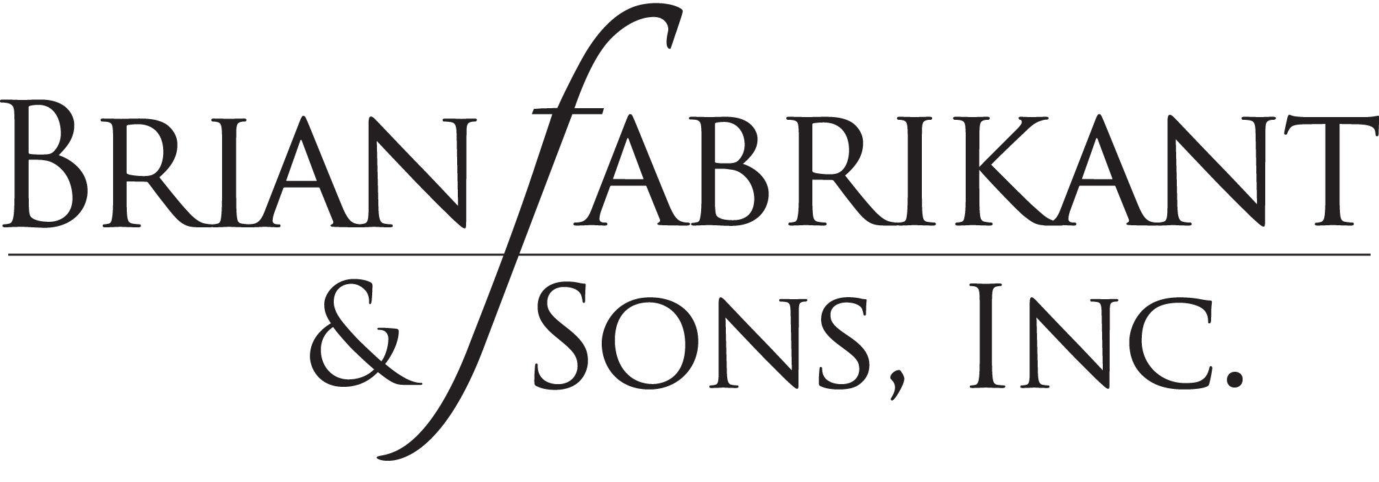 Brian Fabrikant & Sons